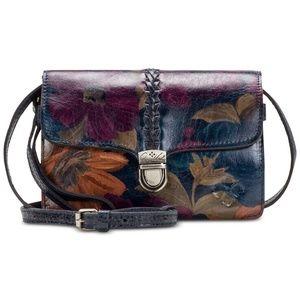 New! Patricia Nash Bianco Braided Crossbody Bag